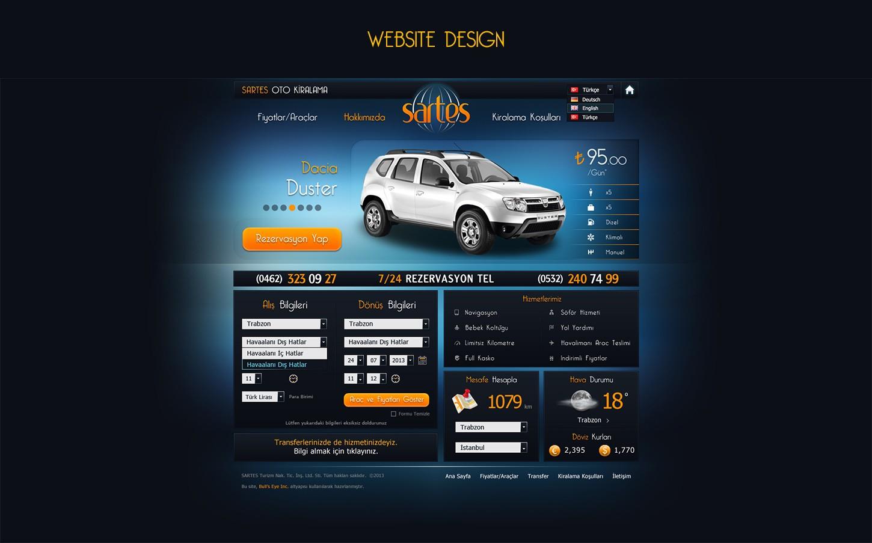 website design sartes