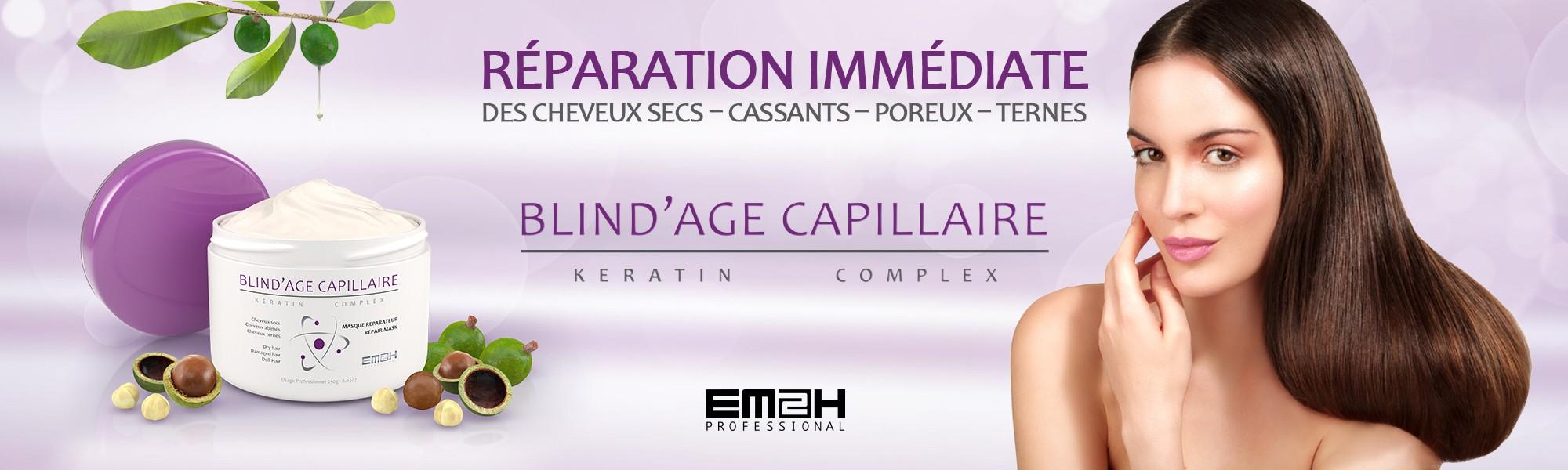 visuel pour lumibeauty produits em2h blind'age capillaire